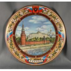 Тарелка Московский Кремль  (24 см)