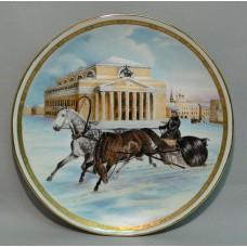 Москва. Театральная площадь. 19 век (20 см)