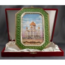 Фарфоровая картина. Храм Христа Спасителя