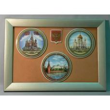 Москва на фарфоровых пластах